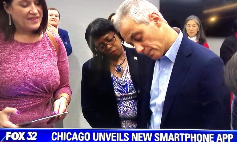 Chicago Unveils New App for 311 Services